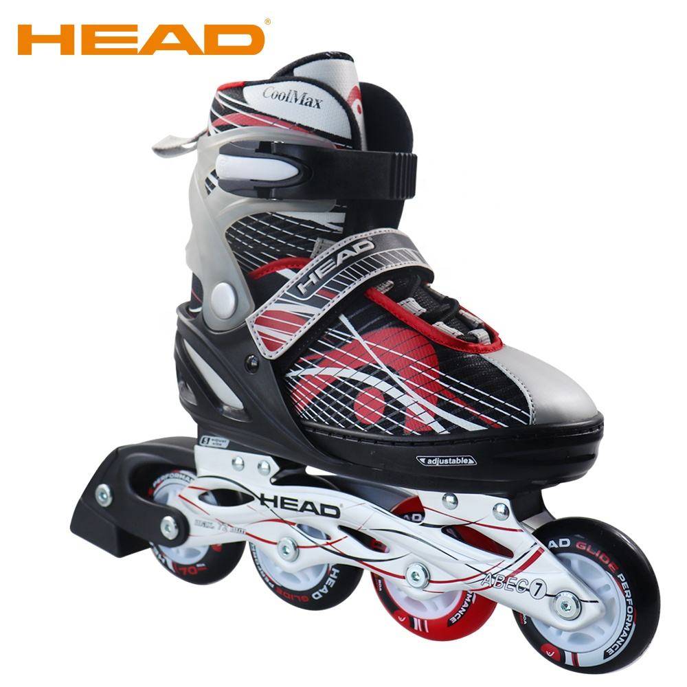 HEAD High Quality Adjustable Electric 4 Wheels Inline Speed Skates