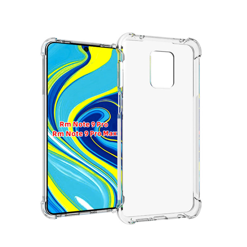 Airbag Shockproof Transparante Tpu Telefoon Cover Case Voor <span class=keywords><strong>Xiaomi</strong></span> <span class=keywords><strong>Redmi</strong></span> <span class=keywords><strong>Note</strong></span> 9S / <span class=keywords><strong>Note</strong></span> <span class=keywords><strong>9</strong></span> <span class=keywords><strong>Pro</strong></span> Max