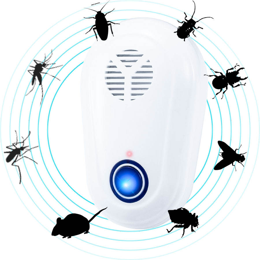 2020 New Ultrasonic Pest Control Mosquito Repellent Pest Repeller Repellent Mosquito Killer Eco-friendly
