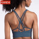 Newest Design China Supplier Dry Fit Custom Sports Training Bra Women