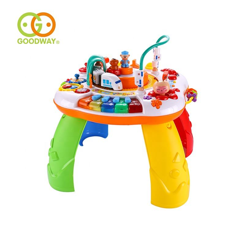 multifunctional activity learning table baby infant study toys for early brain development