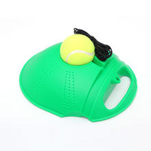 Wholesale 2018 Latest Tennis Trainer Good Plastic Orange And Green Self Tennis Training Equipment With Ball For Tennis Tool
