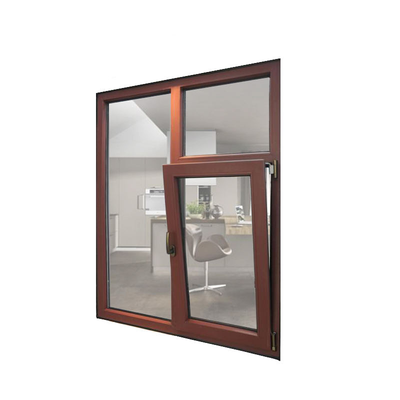 European style Aluminum awning window bottom hung window for living room