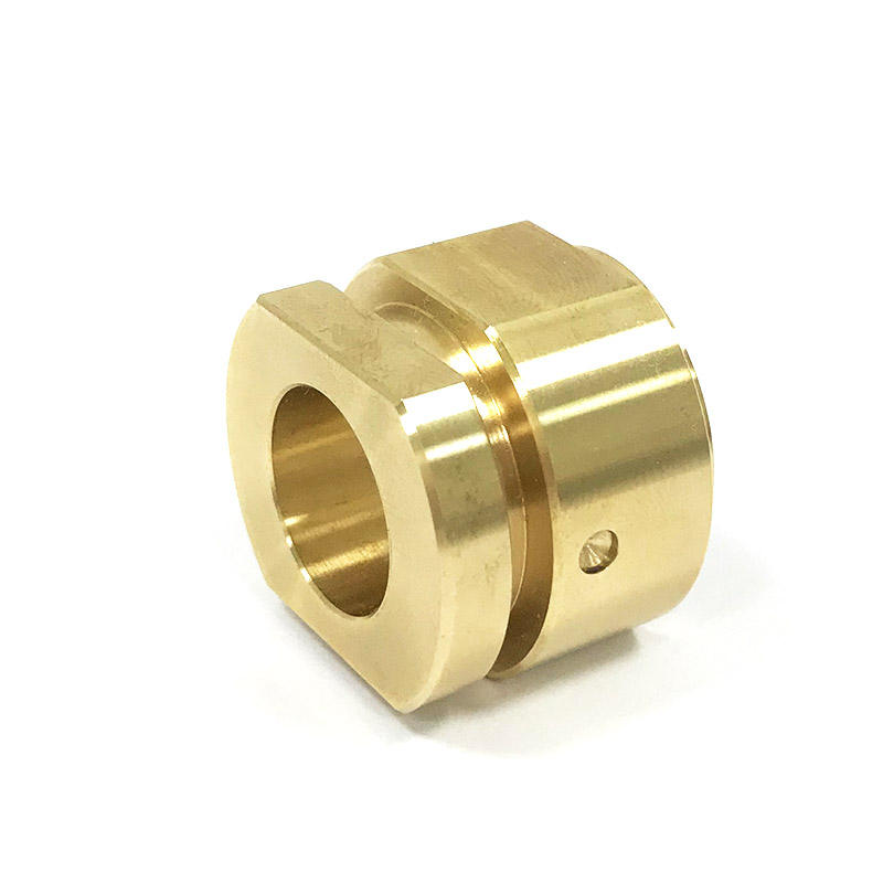 Factory Good Service Custom Brass Machining Electronic Spare Parts