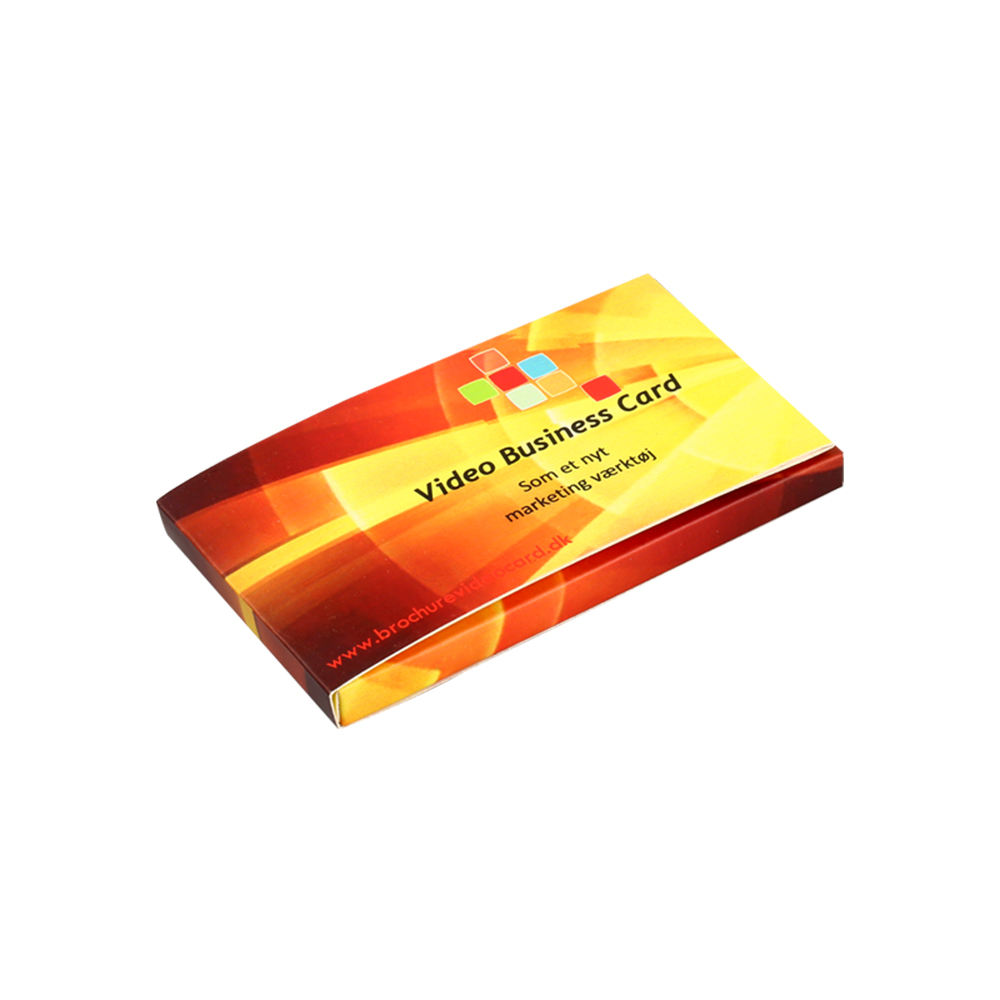 (High) 저 (Quality 2.4 Video 인사말 Card 인사말 Care Video used 대 한 Christmas Gift custom business cards