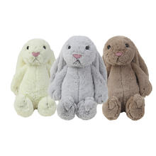 Baby sleep toy soft Baby Comforter Long Eared Rabbit Plush Toy