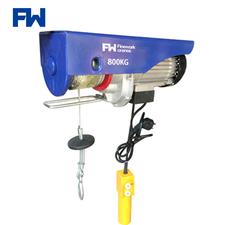 Easy Handling Electric Mini Hoist For Construction Material Lifting