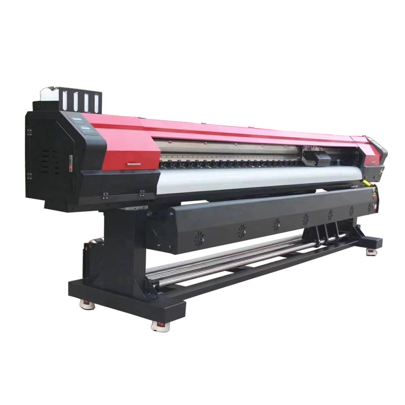Multifunctional Outdoor solvent banner canvas printing machine
