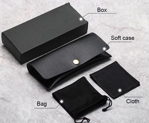 custom wholesale cheap eyeglass shipping box sunglasses storage cases & bags hard case low MOQ
