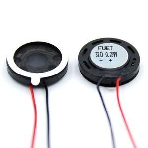 20mm Dia 32 Ohm 0.25W Mini Audio Internal Magnetic Speaker for Tablet PC with cable Micro Replacement Loudspeaker