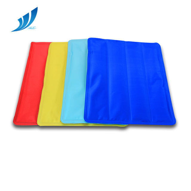 Wholesale Therapy Comfortable Soft Heat Insulated Gel Cold Chair Mat Ice Cooling Mat
