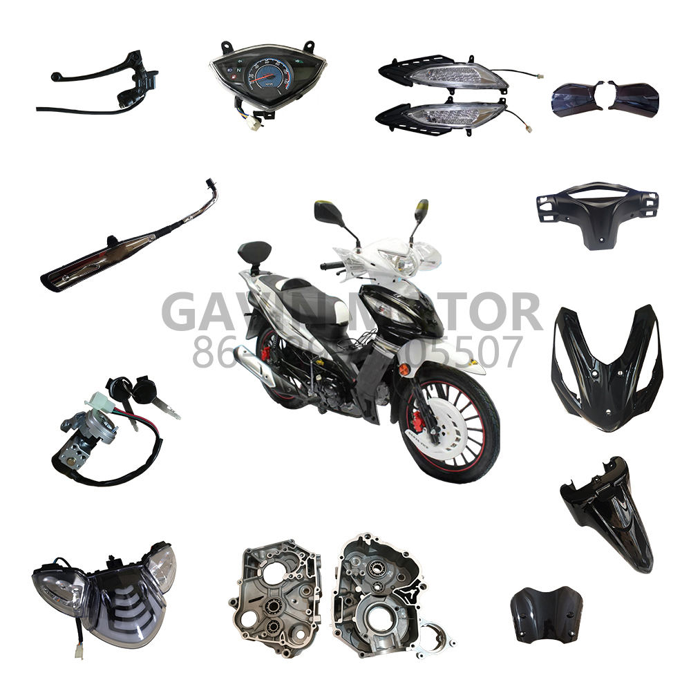 High quality hot sale wholesale all kinds of gear motor original spare parts and accessories for SANYA FICE 110cc