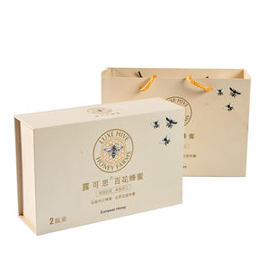 Youse Luxury Containing Silk Cardboard Honey Outer Packaging Paper Gift Box