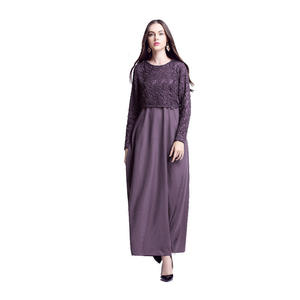 Multifunctional autumn casual long sleeve weddings new dress designs muslim winter coat for wholesales