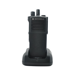 Hot Jual Portabel Dua Cara Radio VHF/UHF Motorola GP328D + Walkie Talkie