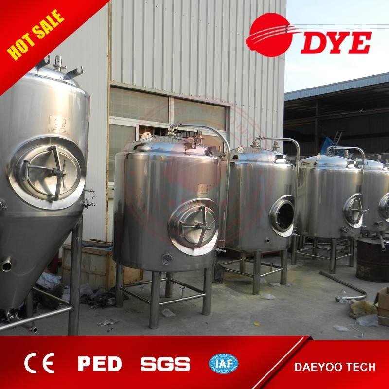 Dye Brewing DYE 1000L Beer Making System For Beer Brewing Equipment Brite Beer Tank