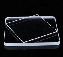 Borosilicate glass plate for fireplace glass