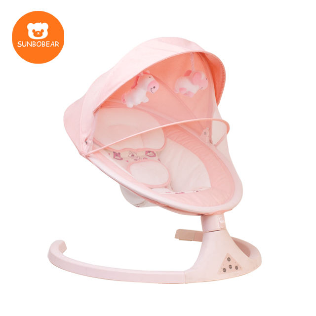 Foshan Factory Intelligent Infant Rocker Automatic Bouncer And Baby Swing With Bluetooth Music