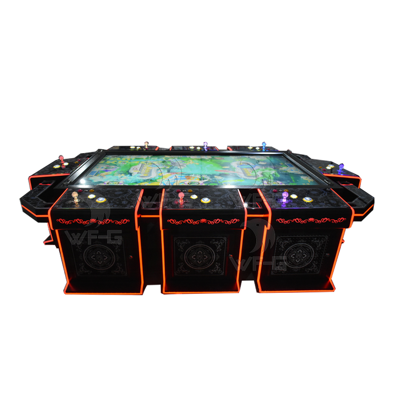 quality assurance 8 players 85 or 86 inch fish ocean king arcade games table gambling machine cheap price