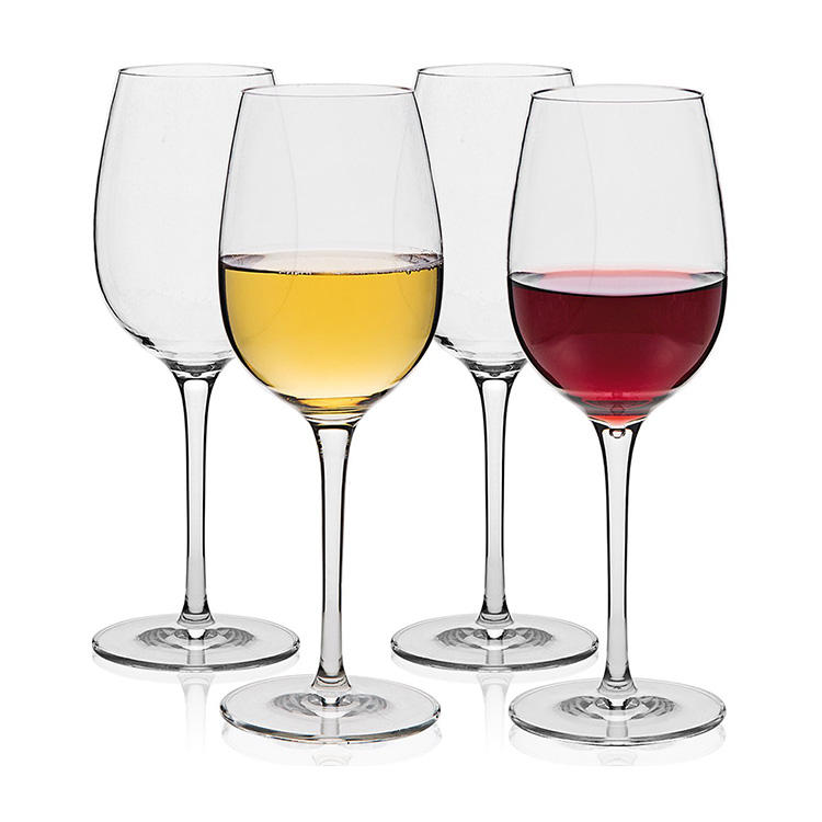 eco-friendly unbreakable clear transparent color food grade tritan copolyester plastic goblet wine glass