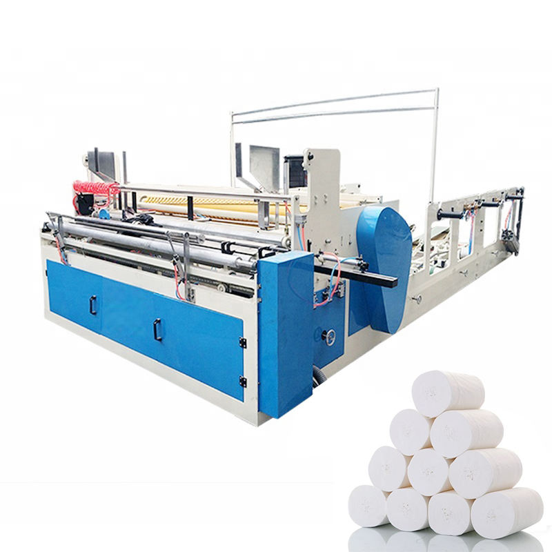 Small machines for home business toilet paper roll making machine toilet paper rewinding machine