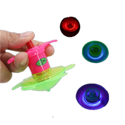 Creative children's toys with launcher flash spinning top nostalgic gifts small toys