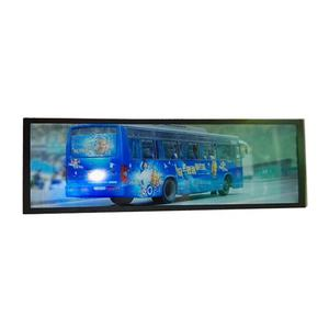 2020 neue Bus Zug Werbung 24,4 Inch Bar Linie Indoor Lcd Display