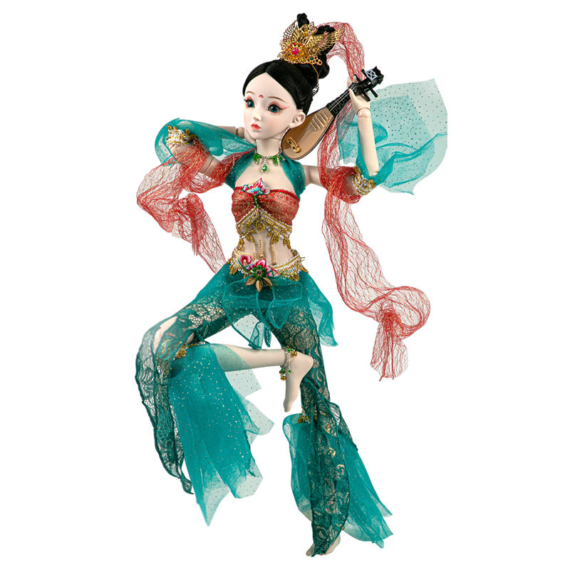 Chinese Tang Dynasty Dunhuang Doll Toy Birthday Present 24 Inch 60cm bjd Flying Fairy Doll