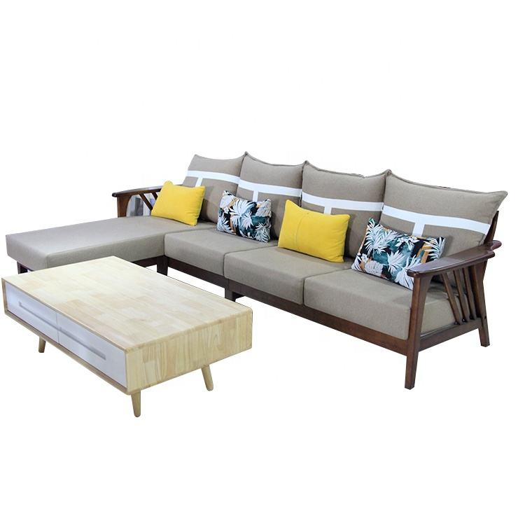 China Supplier Customized European Drawing Room Modular Sofa Set Design Fabric Sofa