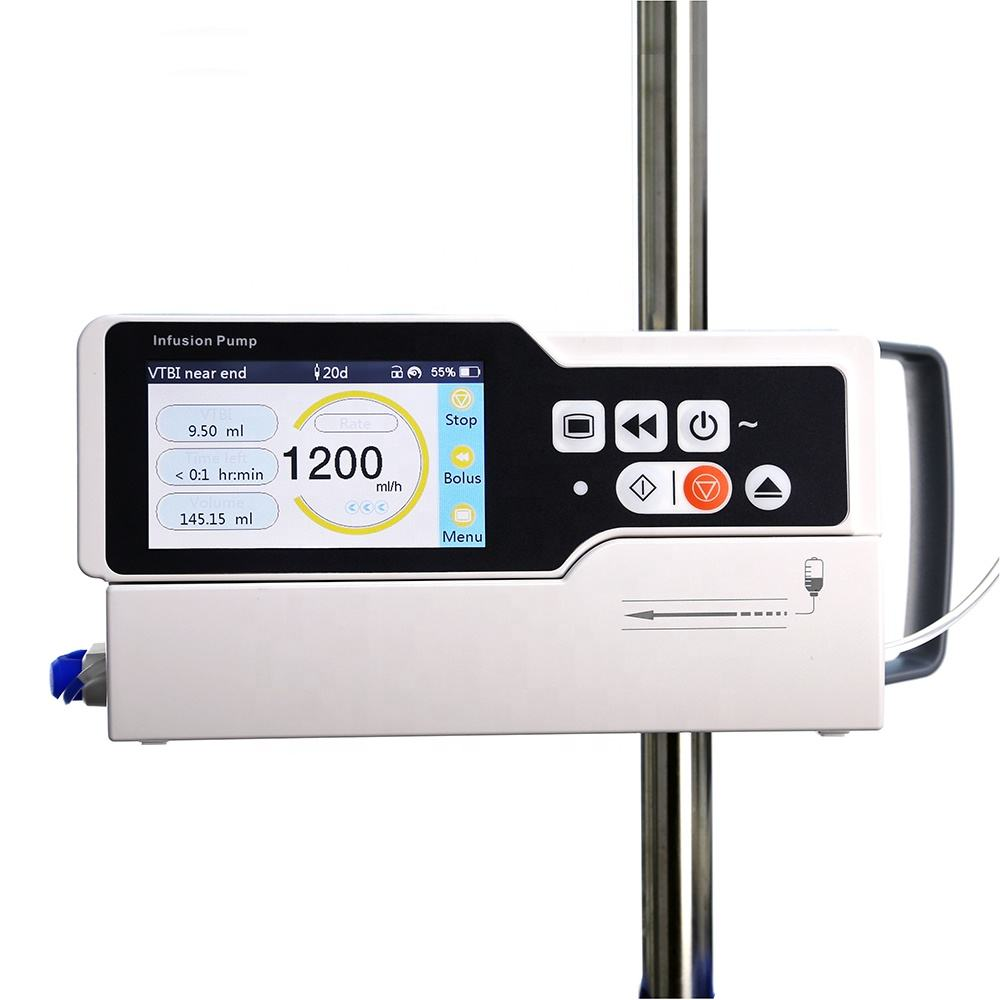 Medical Equipment: PRIP-E700 High Quality Touch Screen Volumetric IV Infusion Pumps for Hospital ICU