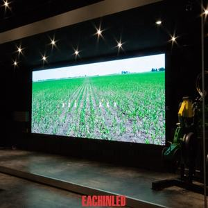 Besser Rendering P5.95 LED Videowand Als Scrolling Lauf Textnachricht-led-display Panel, bord
