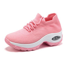 PDEP fashion casual shoes for women flats lace up ladies comfortable mesh breathable running outdoors women casual shoes