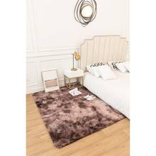 Excellent QualityGradient Living Room Plain Shaggy Warm Color Carpet and Rugs
