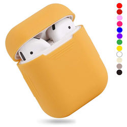 Cute Silicone for Airpods Case Wireless Bluetooth Cover for Apple Airpod 2 1 Case Accessories Charging Box for Air pods