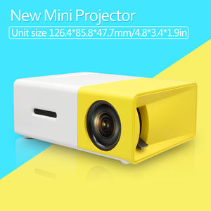 YG300 Mini Projector Support 1080P YG-300 Portable LED Projector Home Theatre Video Beamer YG310 Proyector