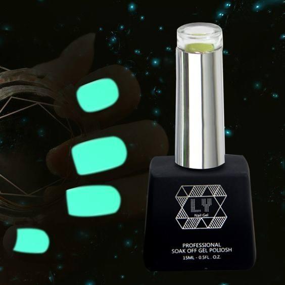 Greenyue de <span class=keywords><strong>alta</strong></span> calidad brillan en la oscuridad luminosa Esmaltes Gel UV esmalte de uñas al por mayor de China proveedor