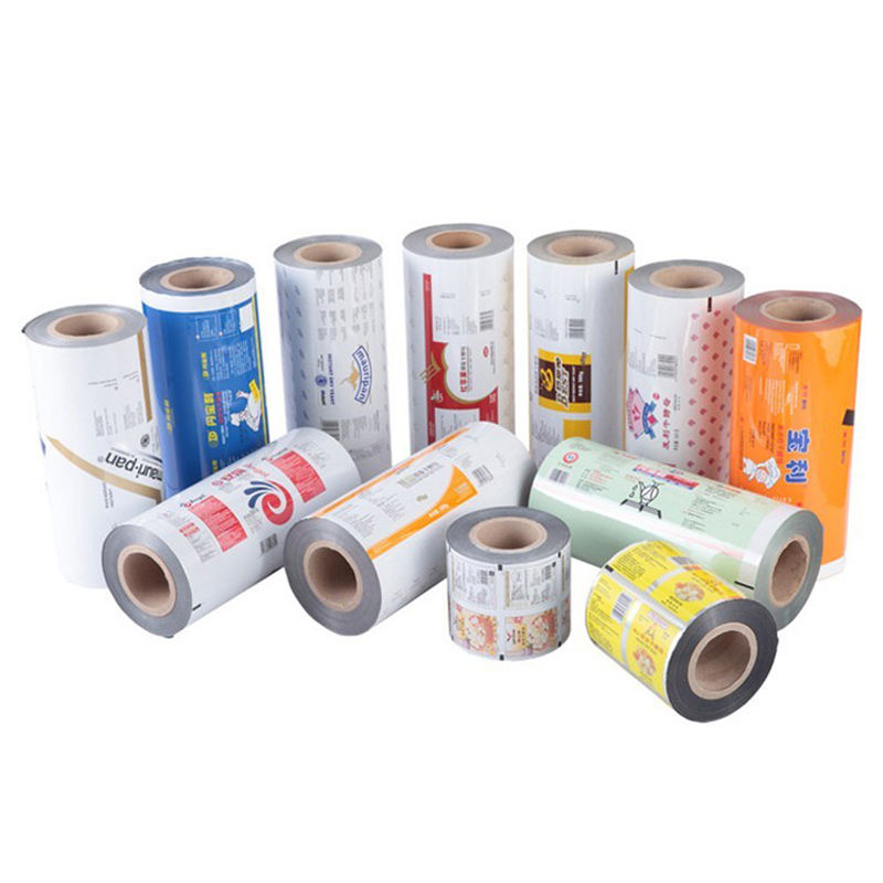Laminated materials and Flexo Printing thermal sealing food packaging sachet film roll