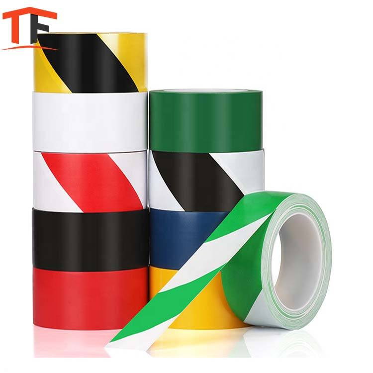 Manufacturer Warning Adhesive PVC road floor marking Tape