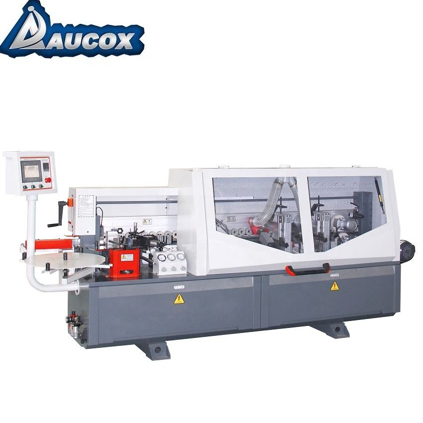 Aucox Full Automatic 0.3-3mm PVC Wood Edge Banding Machine