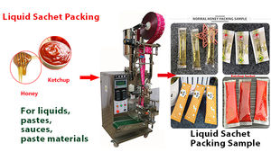 Automatic ice lolly packing machine  ice lolly filling sealing machine price