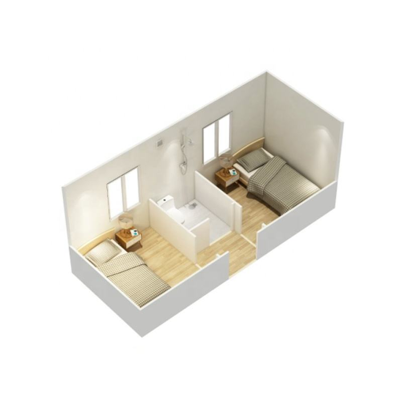 Foldable/folding container prefab office/lving house for sale