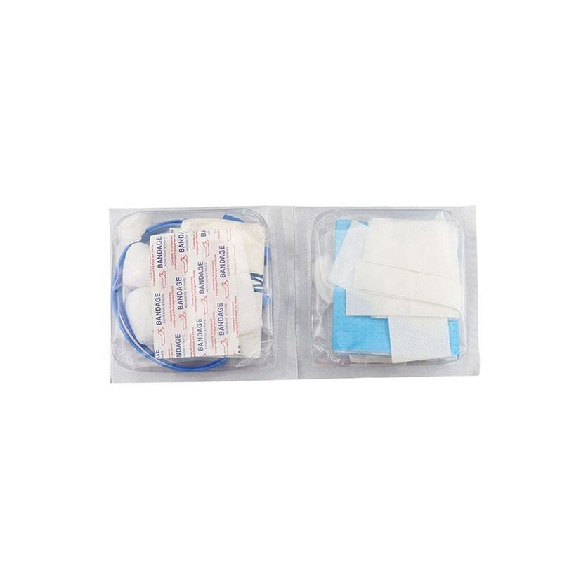 Disconection   Reconection Renal Disposable Dialysis Sterile Pack for both Fistula   Catheter