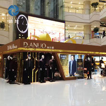 Customized Fashion Garment Display Stand Racks For Mens Clothing Store Furniture Interior Design