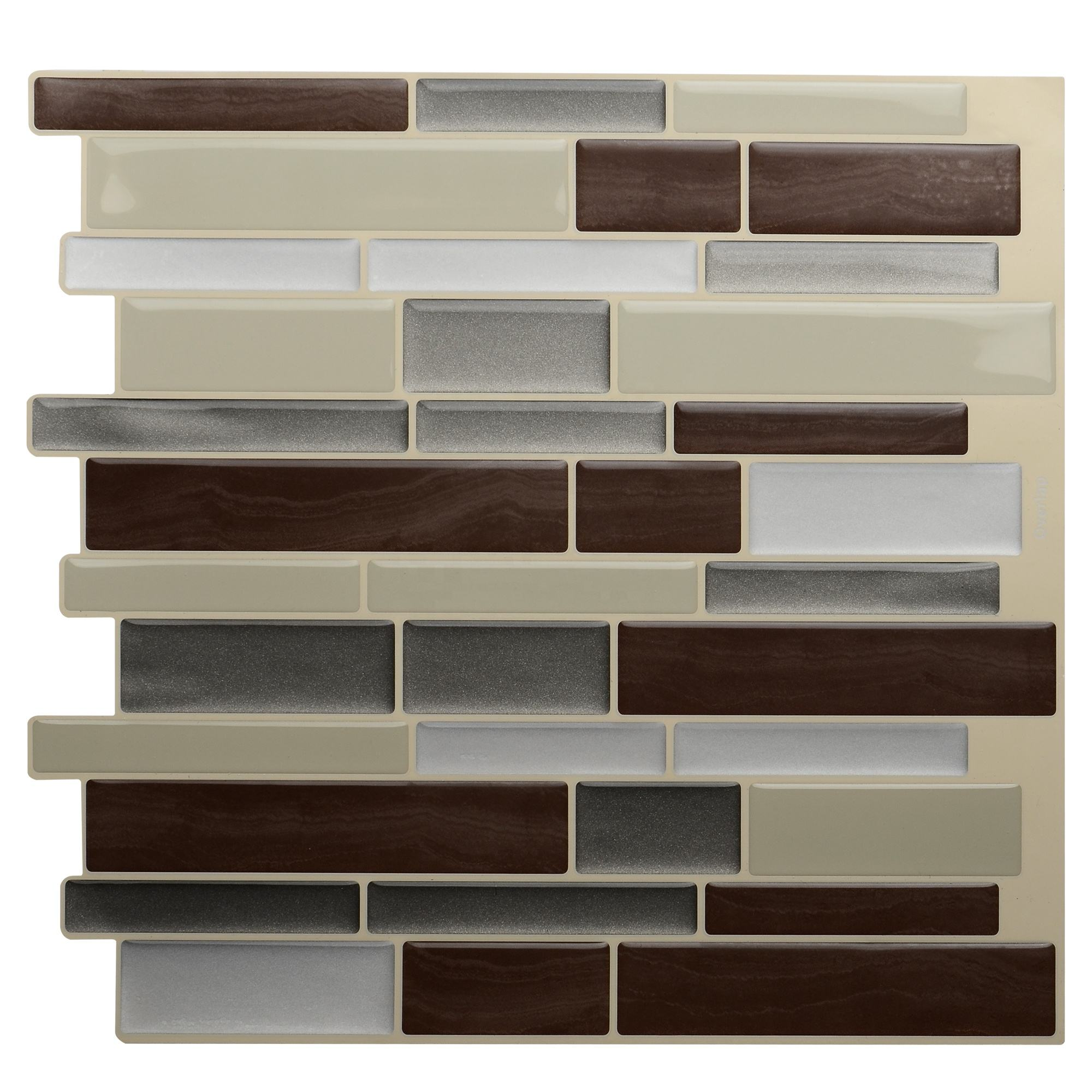 DIY decorativo peel and stick backsplash azulejo stick en vinilo adhesivo smart <span class=keywords><strong>wall</strong></span> azulejos