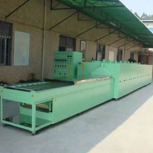 Industrial continuous conveyor dryer machine heating wind circulation belt drying equipment made in China
