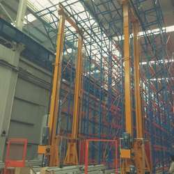 Automatic Storage Pallet Storage System Racking Outdoor ,Aerosol Filling Systems
