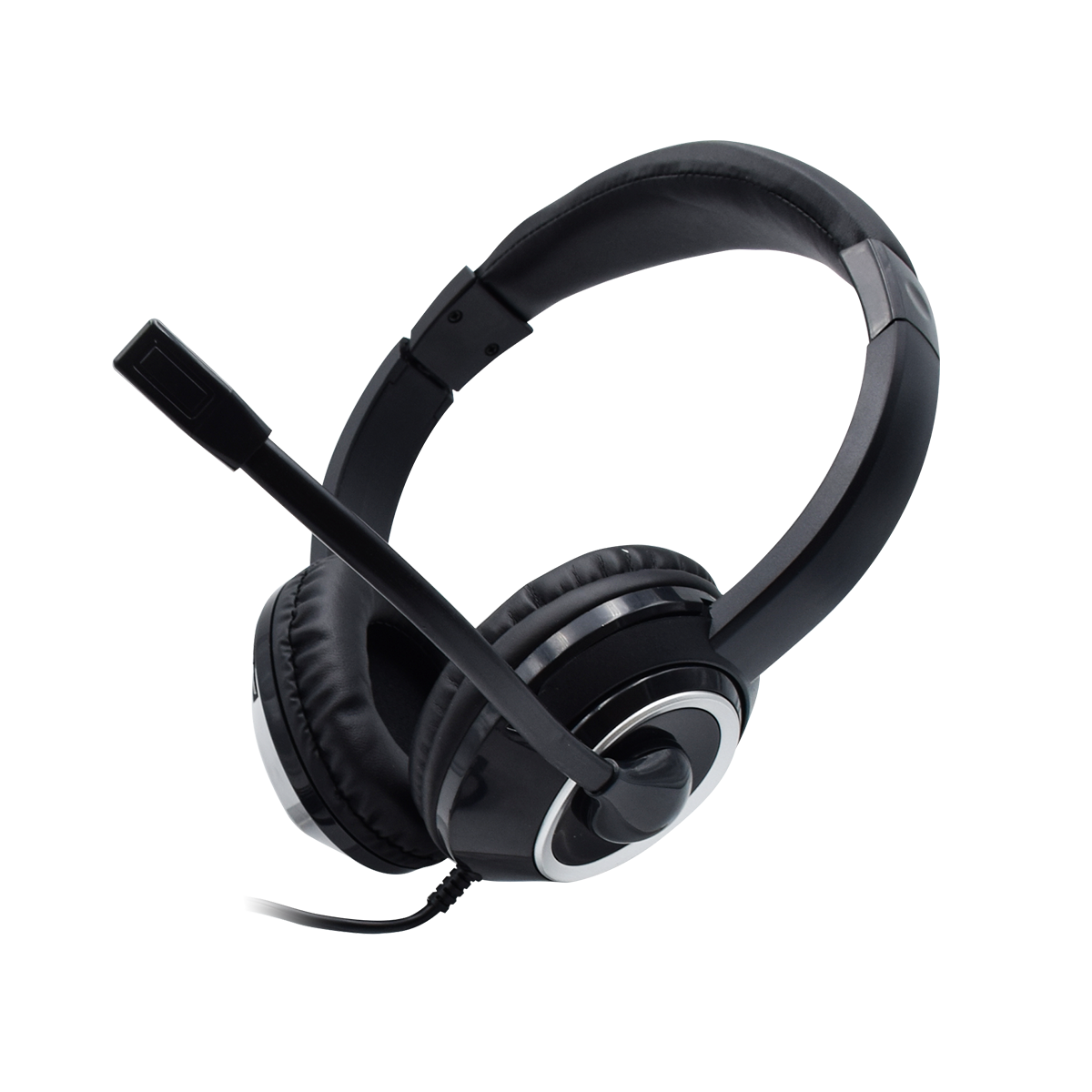 Headphone Gaming Komputer Suara 5.1 7.1, Headphone Gamer PS4 X-BOX dengan Mic Peredam Bising