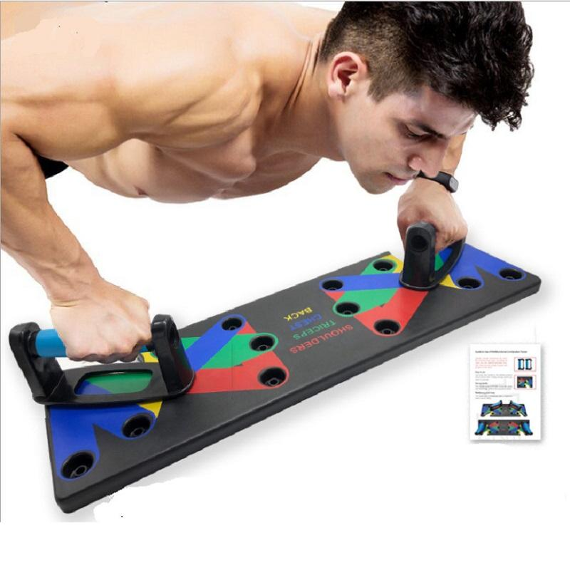 gym multifunction custom portable newest foldable fitness push up board