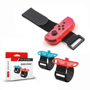 Laudtec 1 Pair Adjustable Elastic Strap Wrist Bands For Nintendo Switch Joy-Cons Controller