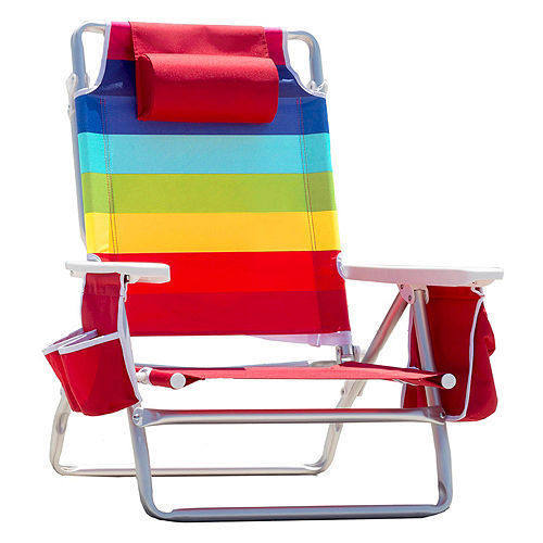 NEW SUMMER customTommy bahama folding beach chair with pvc coating fabric for beach chair with cooler bag.